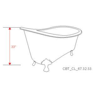 Clawfoot Design Bathtub by Coppersmith Creations