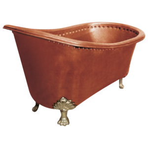 Copper Bathtub Clawfoot Design by Coppersmith Creations