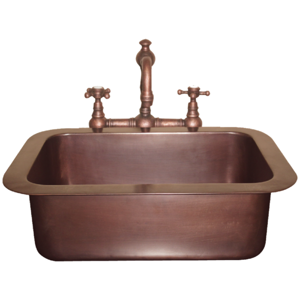 Copper Sink Single Well by Coppersmith Creations