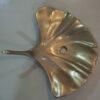 Cast Bronze Sink Leaf Design