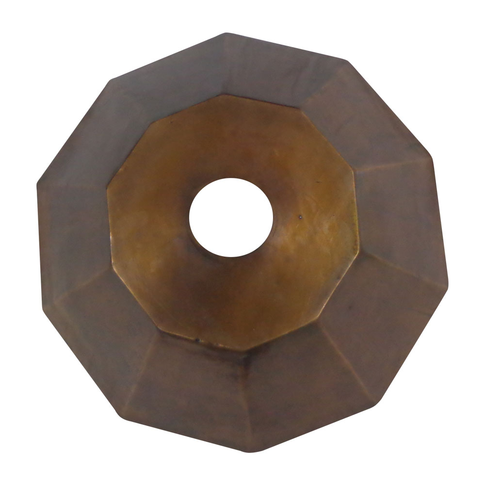 Copper Sink Double Wall Decagon Shape Coppersmith 174 Creations