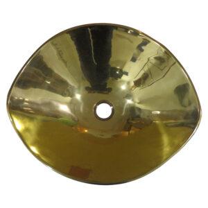 Cast Bronze Sink Yellow Bronze