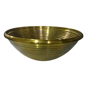 Cast Bronze Sink Round Antique Bronze Finish by Coppersmith Creations