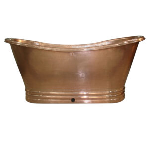 Copper Bathtub Shiny Copper Hand Tinned by Coppersmith Creations