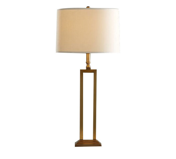 Brass base lamp by Coppersmith Creations
