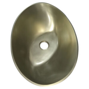 Cast Bronze Sink 16 inch Earthen Lamp Style