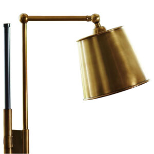Bronze Brass Task Floor Lamp by Coppersmith Creations