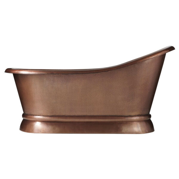 Paxton Copper Slipper Tub