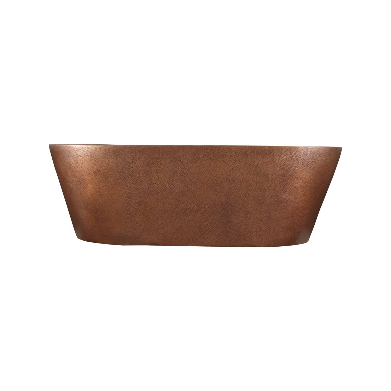 Hammered Double Wall Copper Bathtub Coppersmith 174 Creations