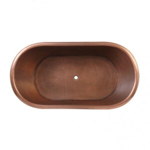 Copper Tub Nickel Exterior