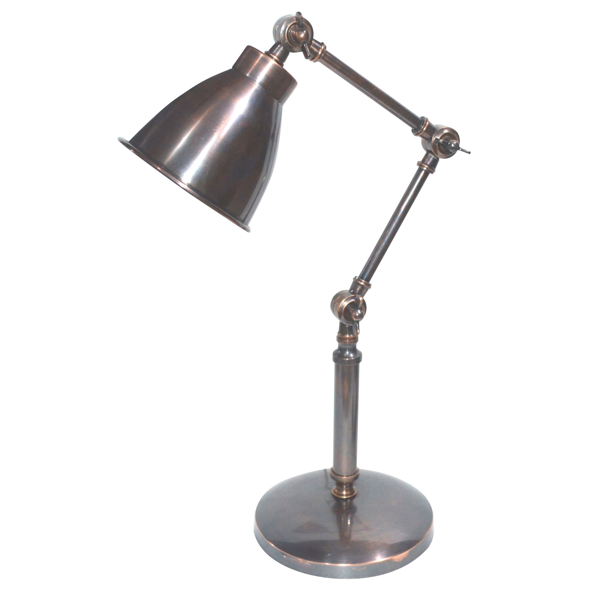 Adjustable Shakespeare Lamp Lamps Table Lamps Metal