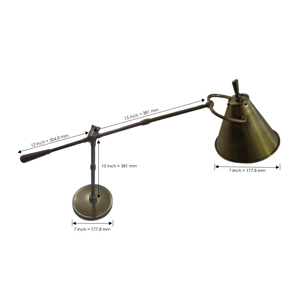 Lucid Lamp - Dimensions