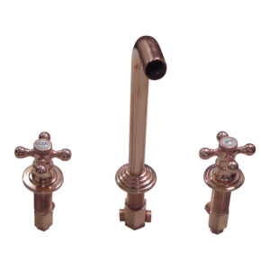 Dixon Copper Finish Wall Mount Faucet