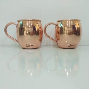 Copper Moscow Mule Mugs Plain