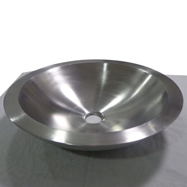 Double Wall Shallow Steel Sink