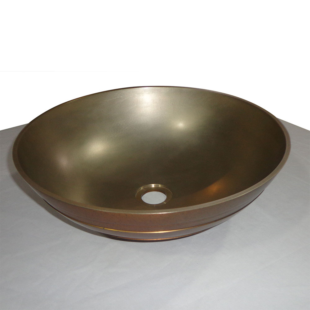 Cast Bronze Sink Ariana Vanity Sink Coppersmith 174 Creations