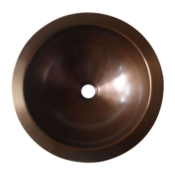 Round Antique Copper Sink
