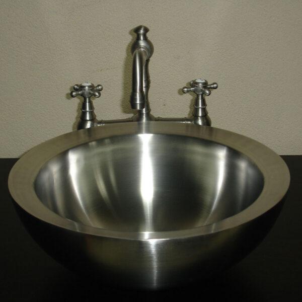 Double Wall Steel Sink