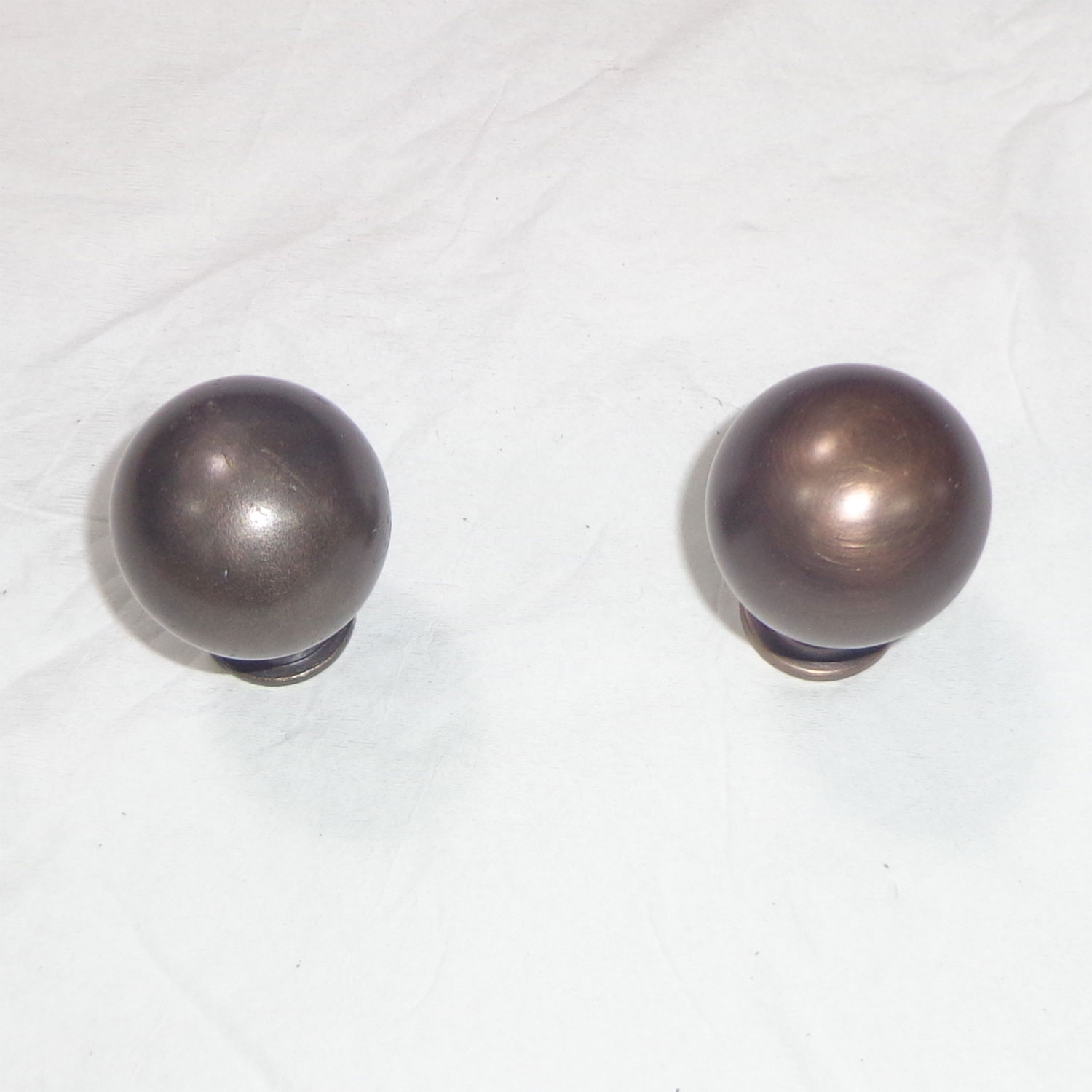 Brass cabinet knobs antique finish coppersmith creations