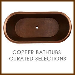 Copper Bathtubs Curated Selections