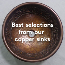 best selections from our copper sinks