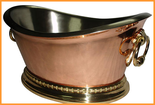 Copper Beverage Tub Serving Panache