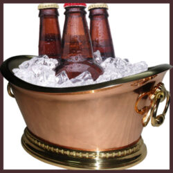 Copper Beverage Tub Serving Panache