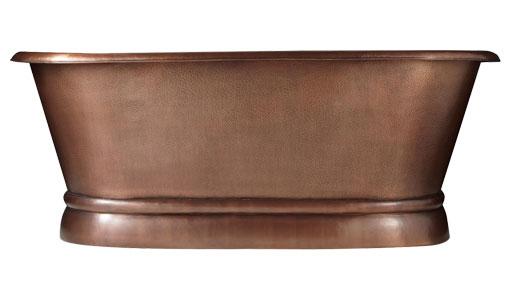 Pedestal Copper Bathtub