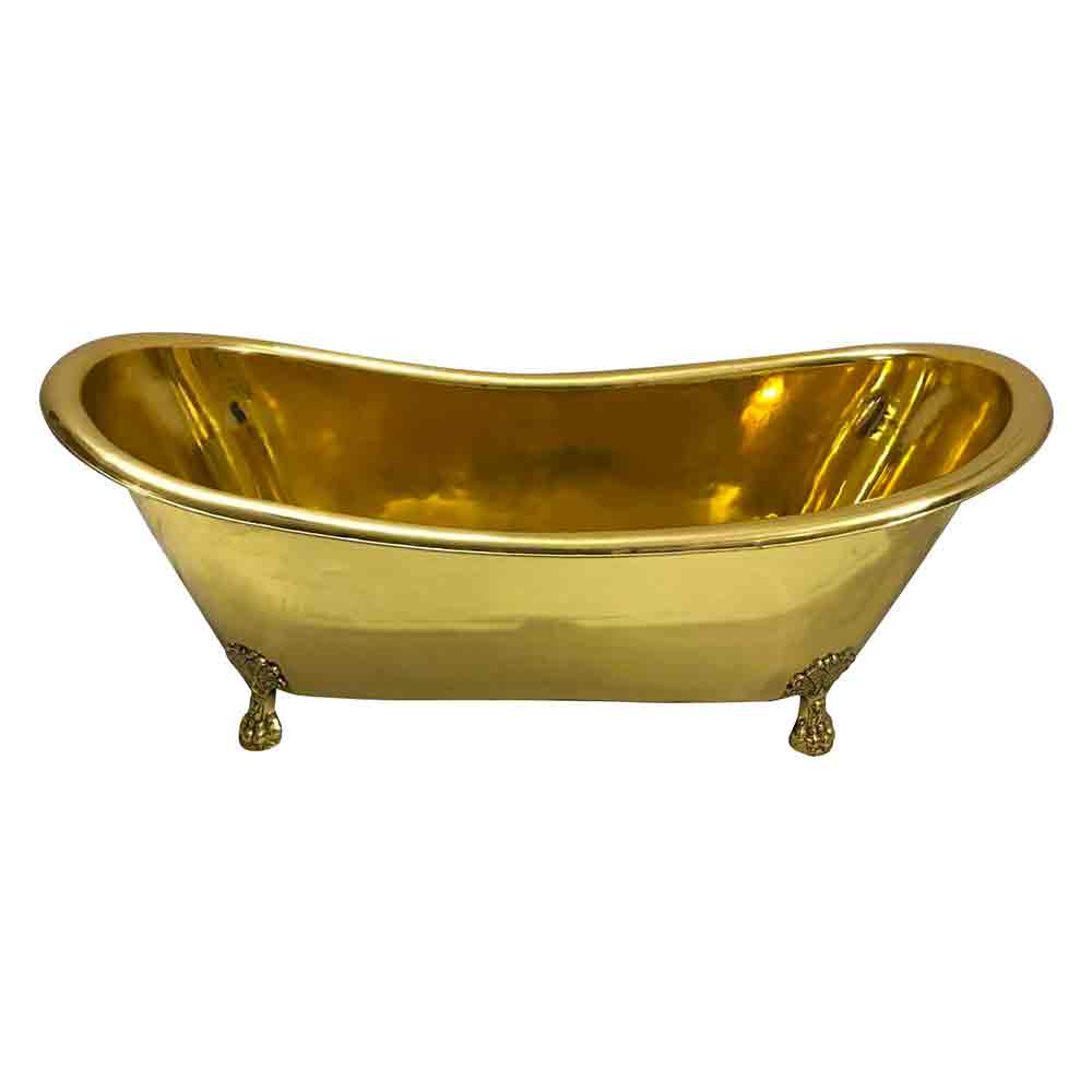 Clawfoot Brass Bathtub Coppersmith 174 Creations