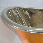 Copper Clawfoot Bathtub Nickel Inside
