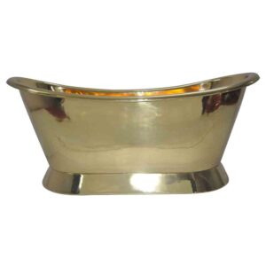 Pedestal Brass Bathtub