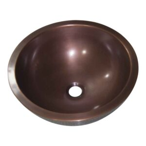 Rice Hammered Copper Sink
