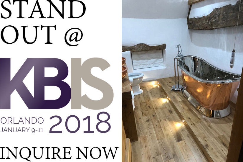 KBIS Exhibitor Offer Bathtub Display