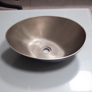 Cast Bronze Sink 18 inch Earthen Lamp Style