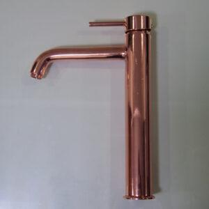 Conduit Shiny Copper Finish Faucet