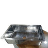 Stainless Steel Kitchen Sink Front Apron Hammered Single Bowl