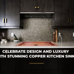 Luxury Copper Kitchen Sink from Coppersmith Creations