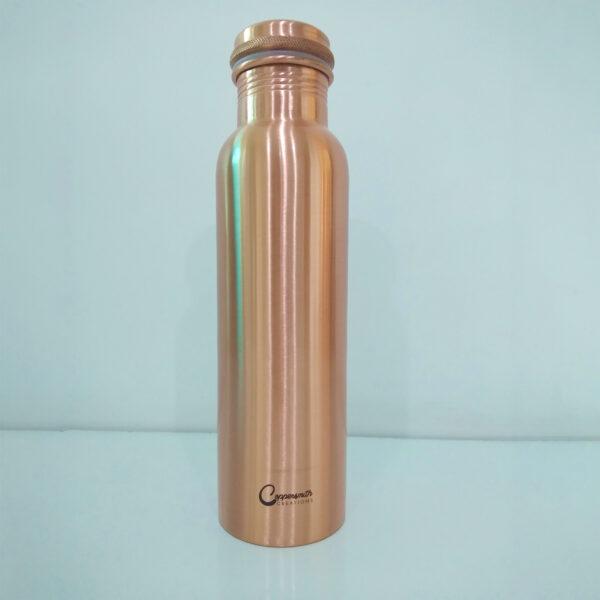 Copper Water Bottle Matt Finish