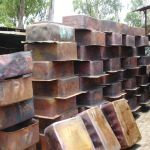 Copper sink production at Coppersmith Creations