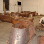Work in progress at Coppersmith Creation's Factory